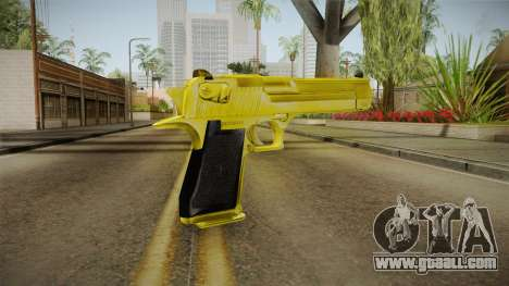 Gold Desert Eagle for GTA San Andreas second screenshot