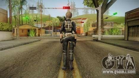 Sudden Attack 2 - Female Blue Reskinned for GTA San Andreas third screenshot