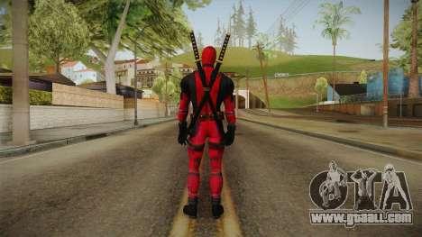 Deadpool The Movie Reskinned for GTA San Andreas third screenshot