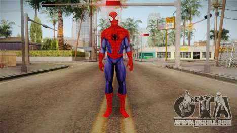Marvel Heroes - Spider-Man Visual Update for GTA San Andreas second screenshot