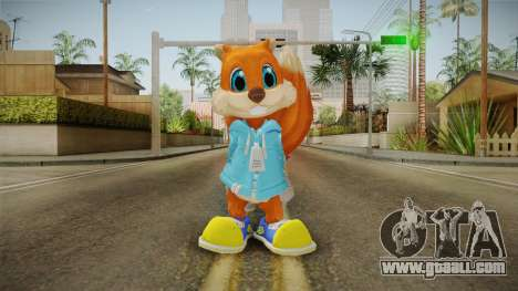 Project Spark - Conker for GTA San Andreas second screenshot