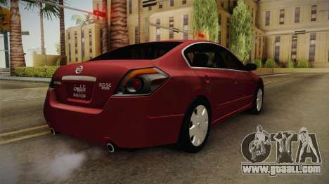 Nissan Altima 2009 Standard for GTA San Andreas right view