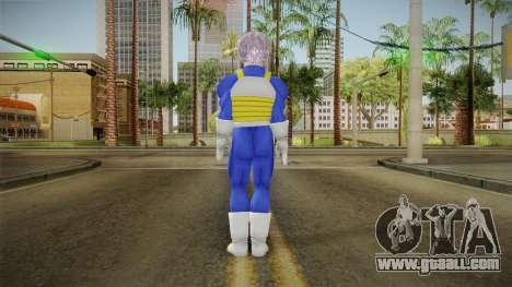 DBX - Trunks SJV2 Saiyan Armor for GTA San Andreas third screenshot