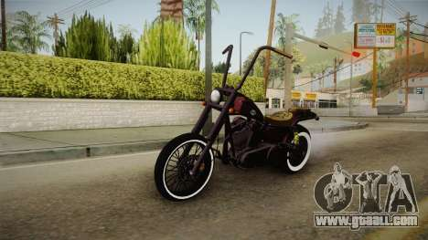 GTA 5 Western Daemon for GTA San Andreas
