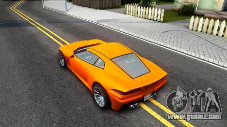 Invetero Coquette GTA V ImVehFt for GTA San Andreas back view