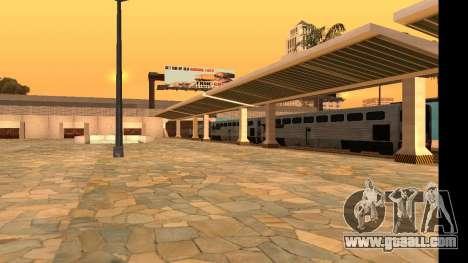 Uniy Station HD for GTA San Andreas third screenshot