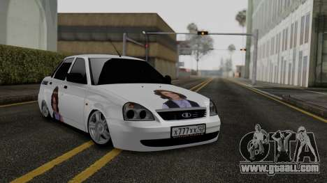 Lada Priora On The Bottom for GTA San Andreas
