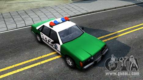 LSPD Police Car for GTA San Andreas right view