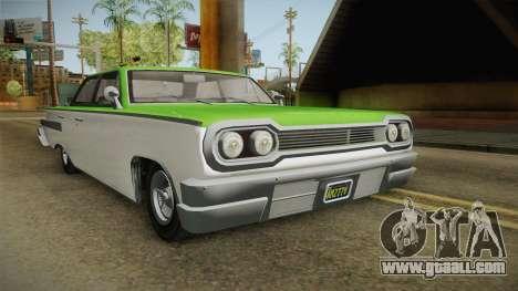 GTA 5 Declasse Voodoo 4-door IVF for GTA San Andreas right view
