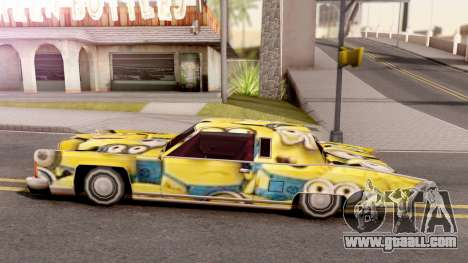 New Remington Paintjob v6 for GTA San Andreas left view
