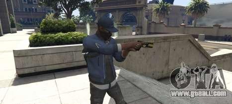 GTA 5 Watch Dogs 2: Marcus Holloway