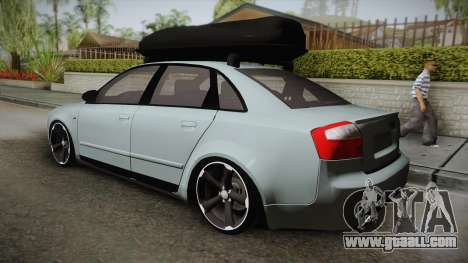 Audi S4 B6 for GTA San Andreas left view