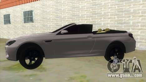 BMW M6 F13 Cabrio for GTA San Andreas left view
