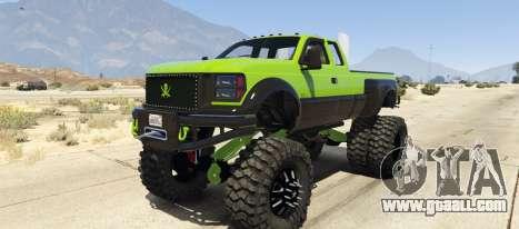 Sandking HD Monster Dually for GTA 5