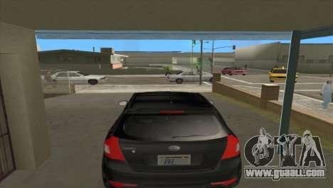 KIA Ceed 1.4 CVVT 2009 for GTA San Andreas back view