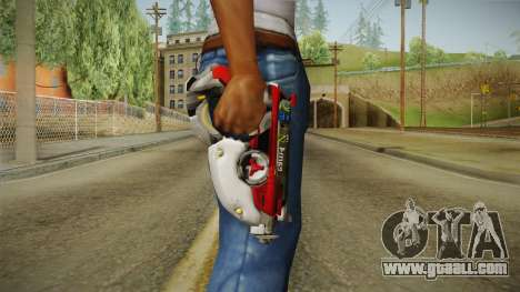 Overwatch 9 - Tracers Pulse Gun v1 for GTA San Andreas third screenshot
