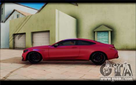 Mersedes-Benz C63 Coupe Tuning for GTA San Andreas left view