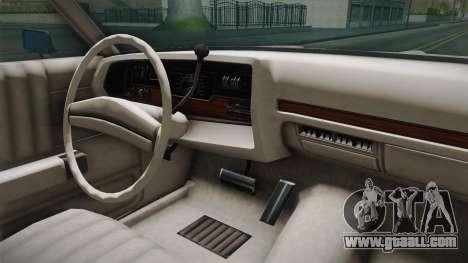 Dodge Polara 1971 Factory Wheel for GTA San Andreas inner view