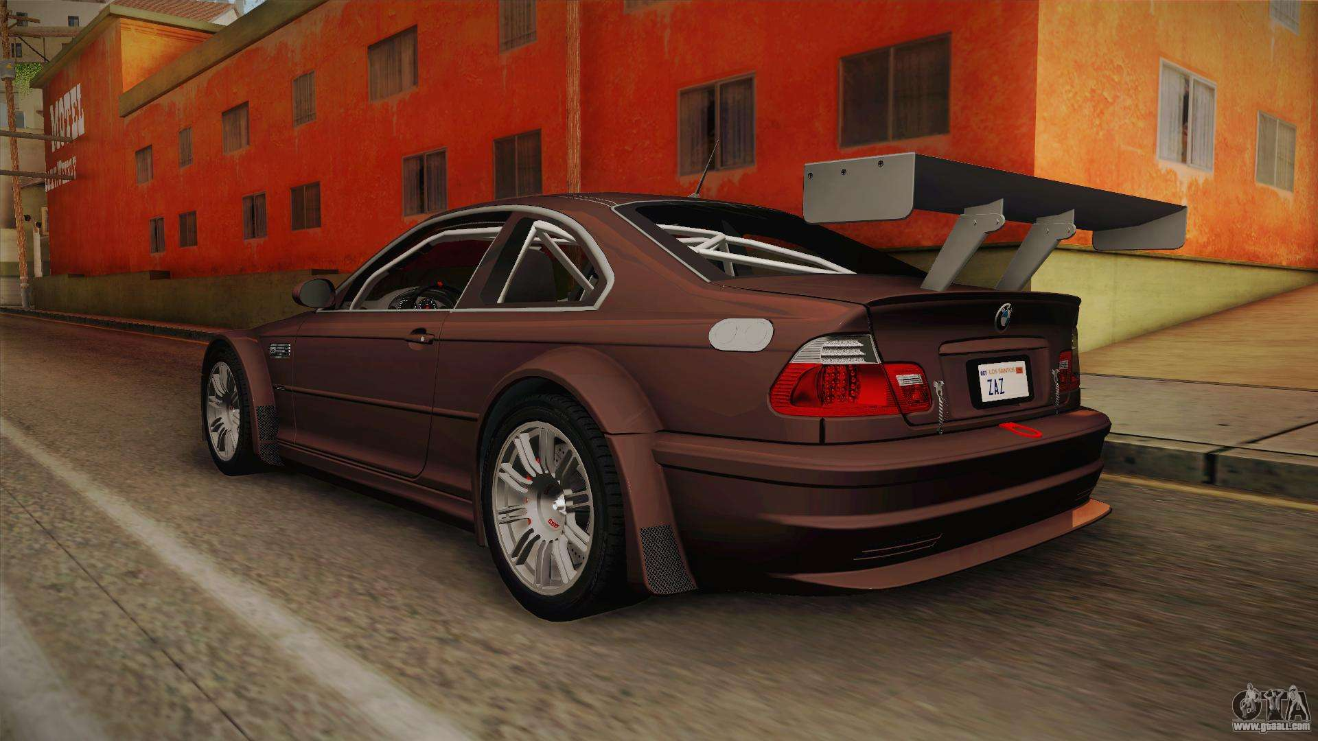 BMW M3 E46 2005 NFS: MW Livery for GTA San Andreas