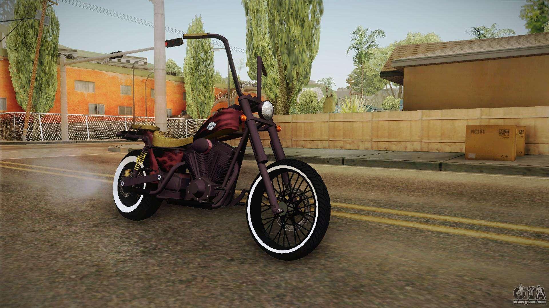 GTA 5 Western Daemon for GTA San Andreas Gta V Western Daemon