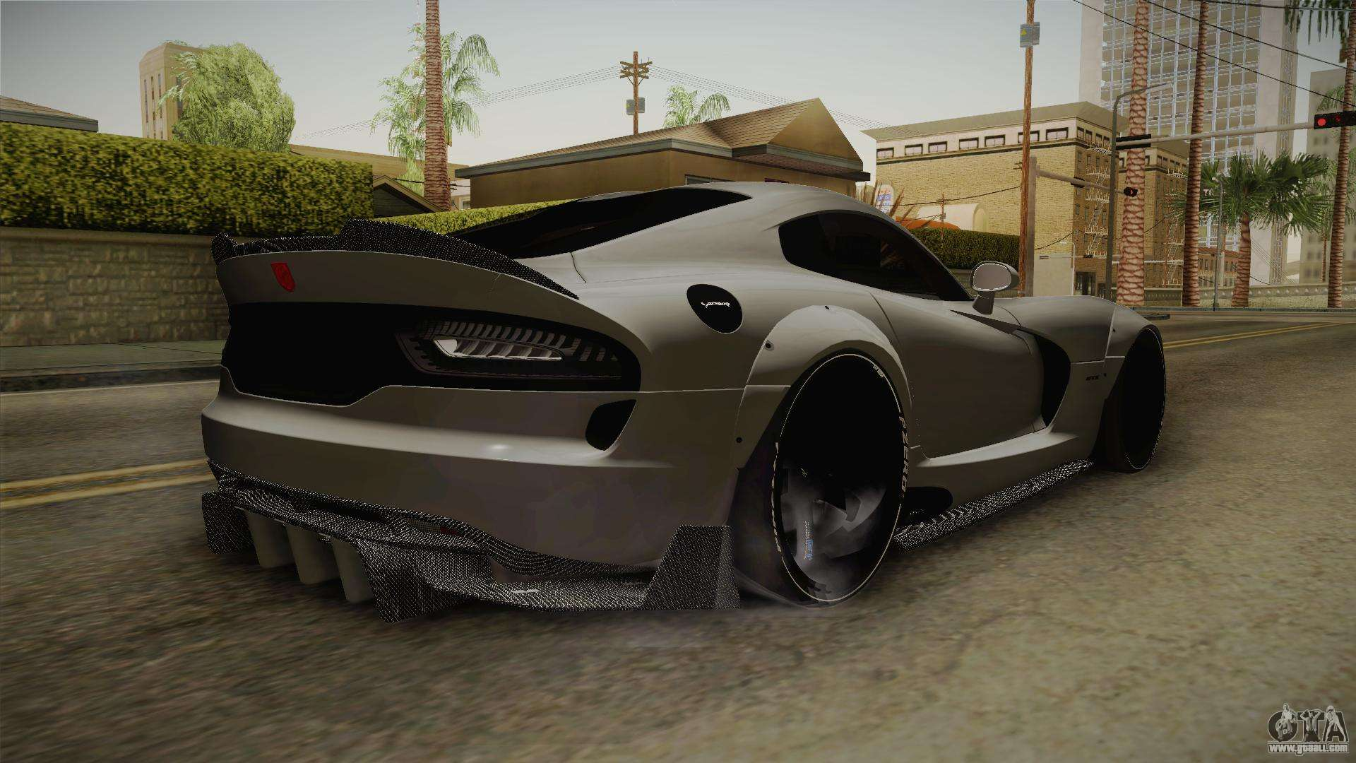 Dodge Viper Srt Tuned For Gta San Andreas