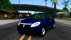 Renault Sandero blue for GTA San Andreas