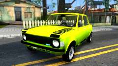 Fiat 128 yellow for GTA San Andreas