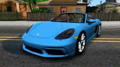 Porsche 718 Boxster S 2017 for GTA San Andreas