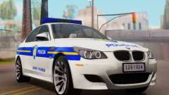BMW M5 Croatian Police Car