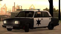 Sheriff HUNTER 2107 for GTA San Andreas