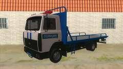 MAZ Tow truck Police for GTA San Andreas
