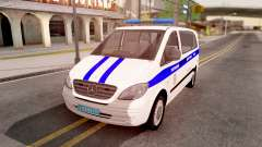 Mercedes-Benz Vito W639 Russian Police for GTA San Andreas