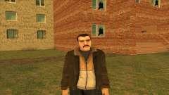 Mustachioed Nico