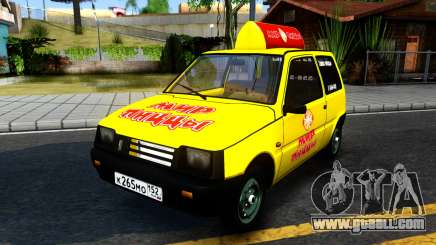 "VAZ 1111 ""Oka"" World Pizza for GTA San Andreas"