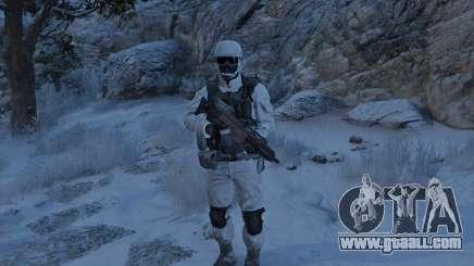 Flat Snow Camo for GTA 5