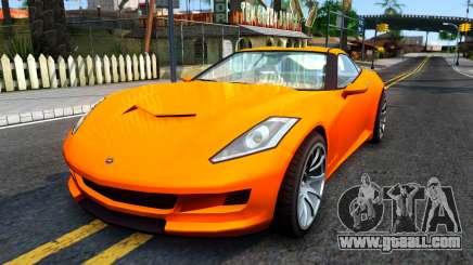 Invetero Coquette GTA V ImVehFt for GTA San Andreas