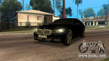 BMW 760i for GTA San Andreas