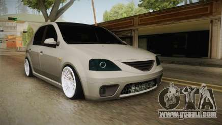 Dacia Logan Romania Edition for GTA San Andreas
