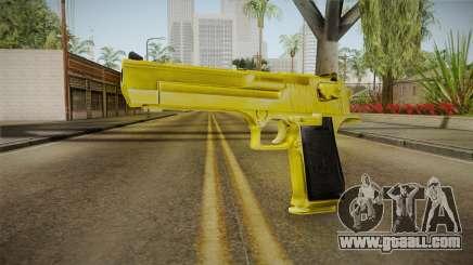 Gold Desert Eagle for GTA San Andreas