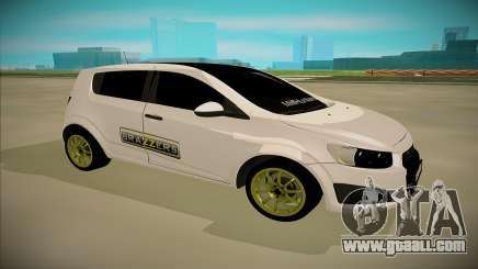 Chevrolet Aveo for GTA San Andreas