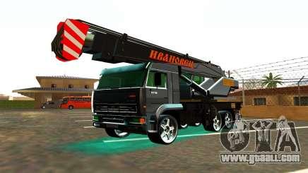 KamAZ 65117 Ivanovic for GTA San Andreas