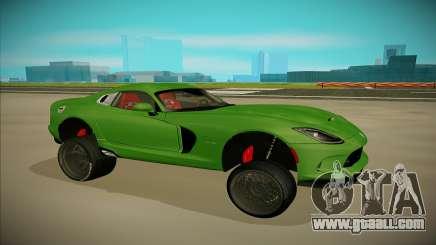 Dodge Viper GTS Off Road for GTA San Andreas