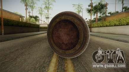 Wonder Woman Gal Gadot Shield for GTA San Andreas
