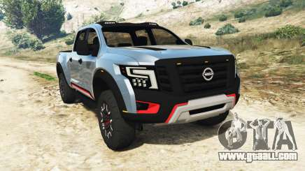 Nissan Titan Warrior Concept 2016 for GTA 5