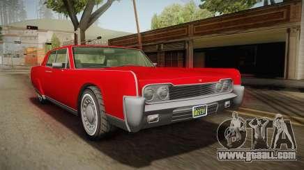GTA 5 Vapid Chino Continental for GTA San Andreas