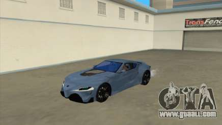 Toyota Supra FT1 Concept 2014 for GTA San Andreas