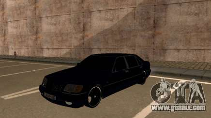 Mercedes-Benz W140 Armenian for GTA San Andreas