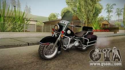 GTA 5 Police Bike SA Style for GTA San Andreas