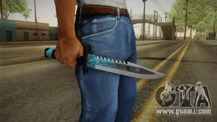 M9 Bayonet BlueSparks for GTA San Andreas