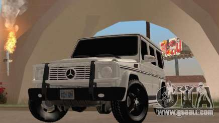 Mercedes-Benz G65 AMG 2012 for GTA San Andreas
